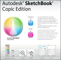 Autodesk-Sketchbook-Copic-Edition