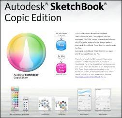 Autodesk-Sketchbook-Copic-Edition